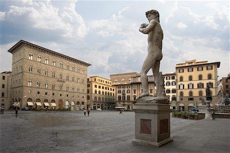 statue of david - Piazza Della Signoria, Florence, Italy Stock Photo - Rights-Managed, Code: 700-01694748
