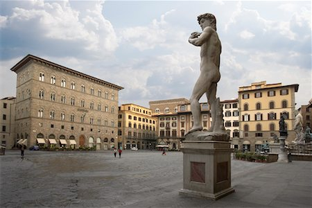 Piazza Della Signoria, Florence, Italy Stock Photo - Rights-Managed, Code: 700-01694748