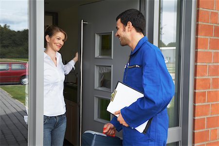Repairman and Client Stock Photo - Rights-Managed, Code: 700-01716480