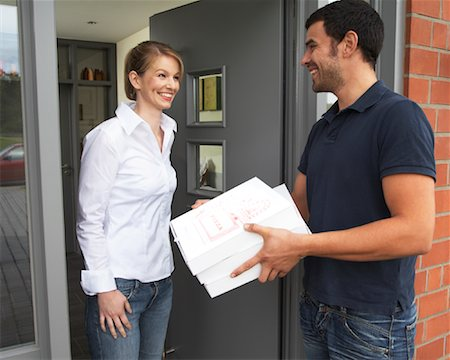 Pizza Delivery Stock Photo - Rights-Managed, Code: 700-01716491