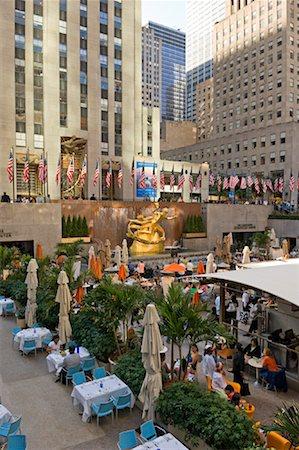 restaurant new york manhattan - Rockefeller Center, New York City, New York, USA Stock Photo - Rights-Managed, Code: 700-01765086