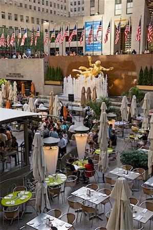 restaurant new york manhattan - Rockefeller Center, New York City, New York, USA Stock Photo - Rights-Managed, Code: 700-01765087