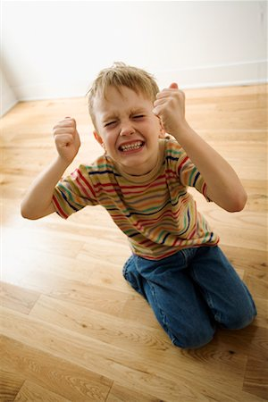 Boy Having Temper Tantrum Stock Photo - Rights-Managed, Code: 700-01787794