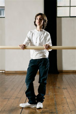 Boy in Dance Studio Stock Photo - Rights-Managed, Code: 700-01788368