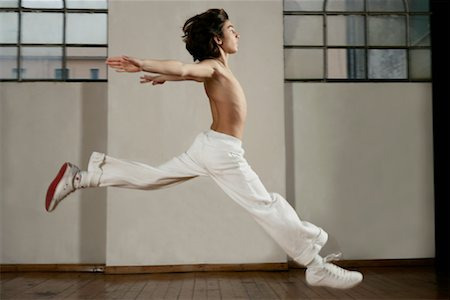 Boy Dancing Stock Photo - Rights-Managed, Code: 700-01788377