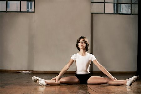 Dancer Stretching Stock Photo - Rights-Managed, Code: 700-01788385