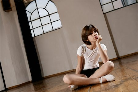 Boy in Dance Studio Stock Photo - Rights-Managed, Code: 700-01788386