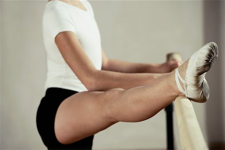 Dancer Stretching Stock Photo - Rights-Managed, Code: 700-01788381