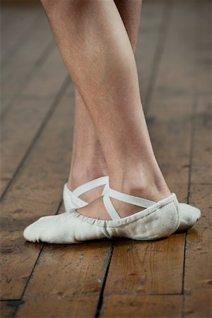 Close-up of Dancer's Feet Stock Photo - Rights-Managed, Code: 700-01788382