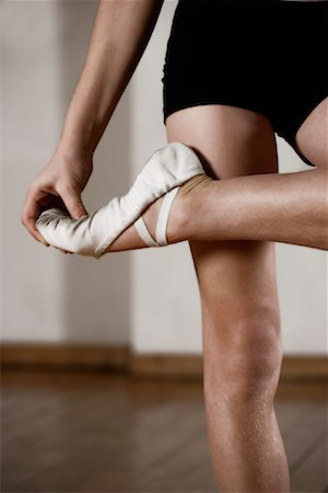 Dancer Stretching Stock Photo - Rights-Managed, Code: 700-01788383
