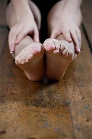 Close-up of Dancer's Feet Stock Photo - Rights-Managed, Code: 700-01788396