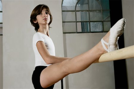 Dancer Stretching Stock Photo - Rights-Managed, Code: 700-01788405