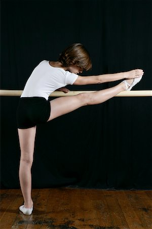 Dancer Stretching Stock Photo - Rights-Managed, Code: 700-01788402