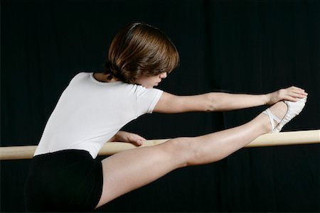 Dancer Stretching Stock Photo - Rights-Managed, Code: 700-01788403
