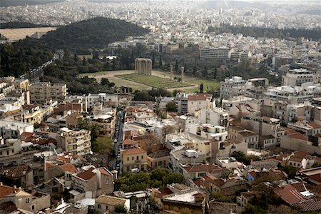 Overview of Athens, Greece Stock Photo - Rights-Managed, Code: 700-01827197