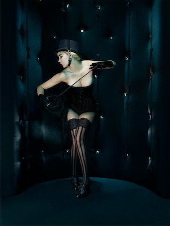 riding crop - Portrait of Showgirl Stock Photo - Rights-Managed, Code: 700-01827217