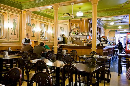 Restaurant on La Rambla, Barcelona, Spain Stock Photo - Rights-Managed, Code: 700-01879659