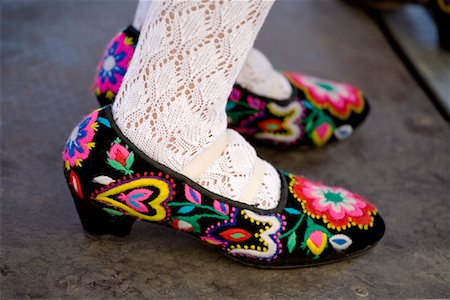Traditional Dancing Shoes, Plaza Mayor, Madrid, Spain Stock Photo - Rights-Managed, Code: 700-01879814