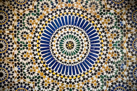 decoration pattern - Close-Up of Moroccan Tile Stock Photo - Rights-Managed, Code: 700-01879929