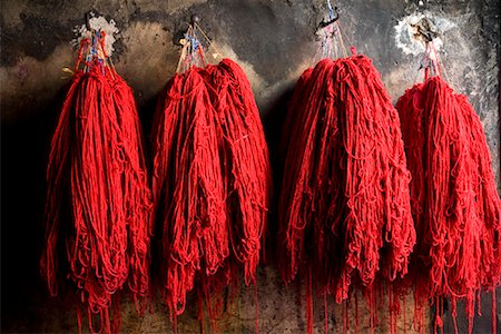 dyed - Dyers Souk, Medina of Marrakech, Morocco Stock Photo - Rights-Managed, Code: 700-01879977
