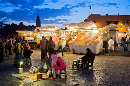 Jemaa El Fna, Medina of Marrakech, Morocco Stock Photo - Rights-Managed, Code: 700-01880001