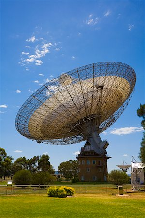 radio telescope - Parkes Observatory, Parkes, New South Wales, Australia Stock Photo - Rights-Managed, Code: 700-01880122