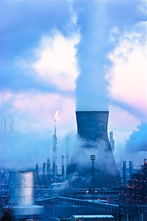 Petrochemical Plant, Grangemouth, Scotland Stock Photo - Rights-Managed, Code: 700-01880339