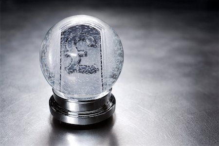 British Currency Symbol in Snow Globe Stock Photo - Rights-Managed, Code: 700-01954747