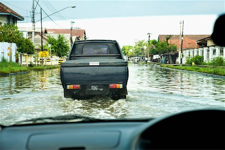 flooded homes - Flooded Streets in Semarang, Central Java, Java, Indonesia Stock Photo - Rights-Managed, Code: 700-01954937