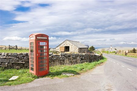 farm phone - Telephone Booth by Farm, England Stock Photo - Rights-Managed, Code: 700-01955199