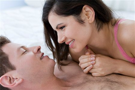 people having sex - Couple in Bed Stock Photo - Rights-Managed, Code: 700-01955522