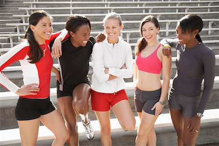 Portrait of Athletes Stock Photo - Rights-Managed, Code: 700-01955743