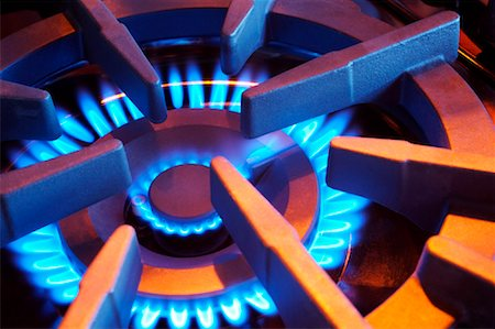 Close-up of Gas Stove Stock Photo - Rights-Managed, Code: 700-01955771