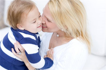 Portrait of Mother and Daughter Stock Photo - Rights-Managed, Code: 700-01953879