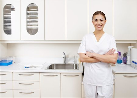 Portrait of Dental Assistant Stock Photo - Rights-Managed, Code: 700-01992967
