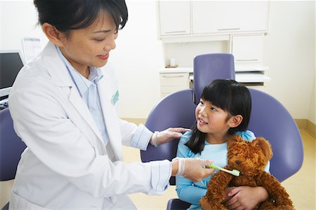 Girl at Dentist Stock Photo - Rights-Managed, Code: 700-01992995