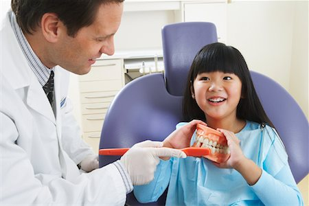 Girl at Dentist Stock Photo - Rights-Managed, Code: 700-01992997
