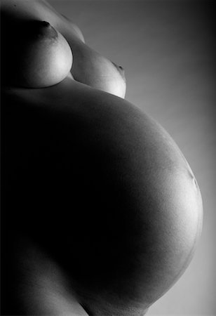pregnant breast - Close-up of Pregnant Woman's Belly Stock Photo - Rights-Managed, Code: 700-02010356