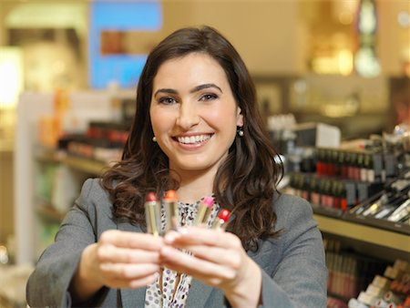 Image result for lady selling make up