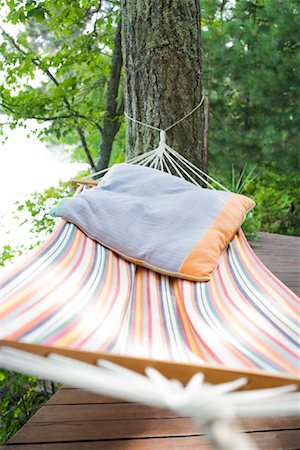 Empty Hammock Stock Photo - Rights-Managed, Code: 700-02010906