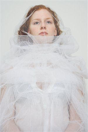 Portrait of Bride Stock Photo - Rights-Managed, Code: 700-02038109
