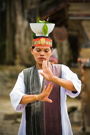 Performance of Tortor Dance, Samosir Island, Sumatra, Indonesia Stock Photo - Rights-Managed, Code: 700-02046546