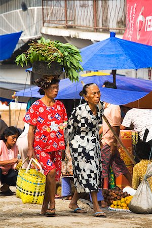 Shoppers at Market, Porsea, Sumatra, Indonesia Stock Photo - Rights-Managed, Code: 700-02046569