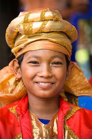Best Man at Wedding, Pasar Kambang, Sumatra, Indonesia Stock Photo - Rights-Managed, Code: 700-02046622