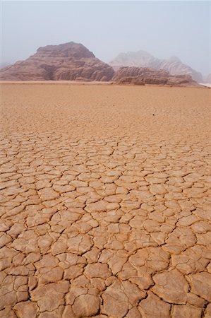 Desert, Wadi Rum, Jordan Stock Photo - Rights-Managed, Code: 700-02046868