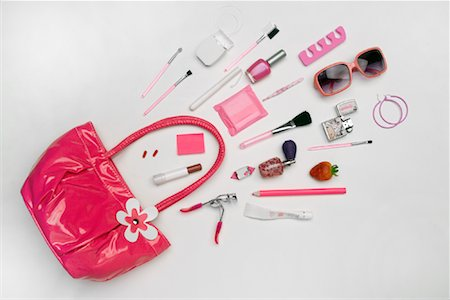 Still Life of Purse and It's Contents Stock Photo - Rights-Managed, Code: 700-02055611