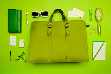 Still Life of Purse and It's Contents Stock Photo - Rights-Managed, Code: 700-02055612