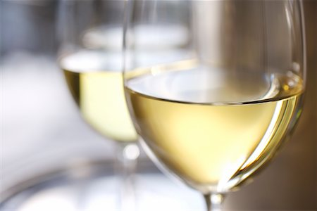 Glasses of White Wine Stock Photo - Rights-Managed, Code: 700-02055928