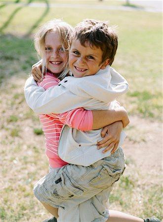 Children Outdoors, Huntington Beach, California, USA Stock Photo - Rights-Managed, Code: 700-02063365