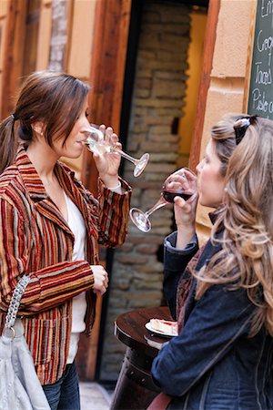 Women Drinking Wine, Zaragoza, Spain Stock Photo - Rights-Managed, Code: 700-02063698